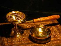 Charcoal and Resin Censer Set - excellent deal for 2 censers