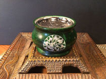 Green Soapstone Resin Burner