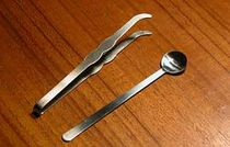 Tongs and Serving Spoon - Incense Heater Tools